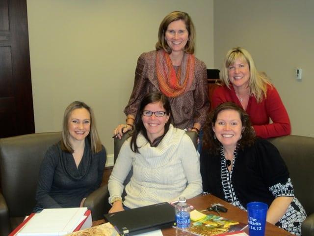 Mentoring Class 8 in Hosting Program Training Session