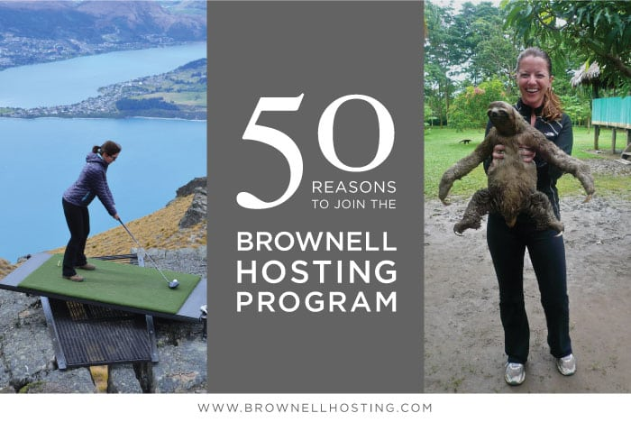 50 Reasons to Join the Brownell Hosting Program