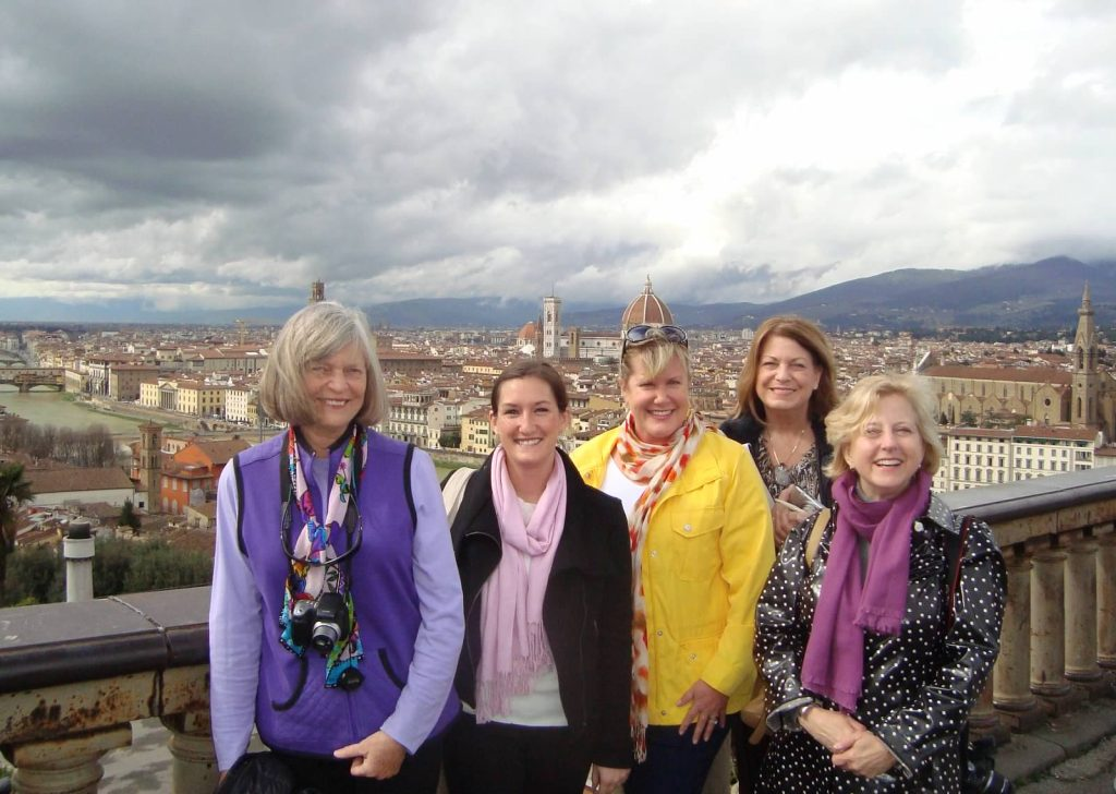Advisors in Italy during a Brownell-Exclusive Educational.