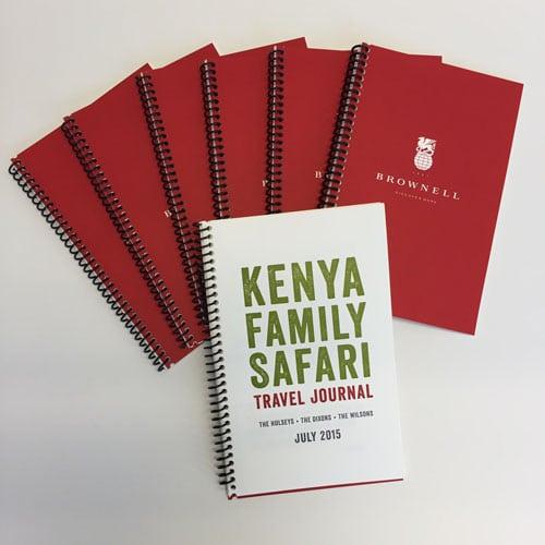Customizable Safari Journal