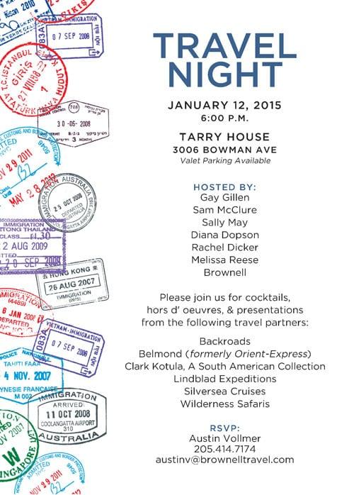 Event Night Invitation
