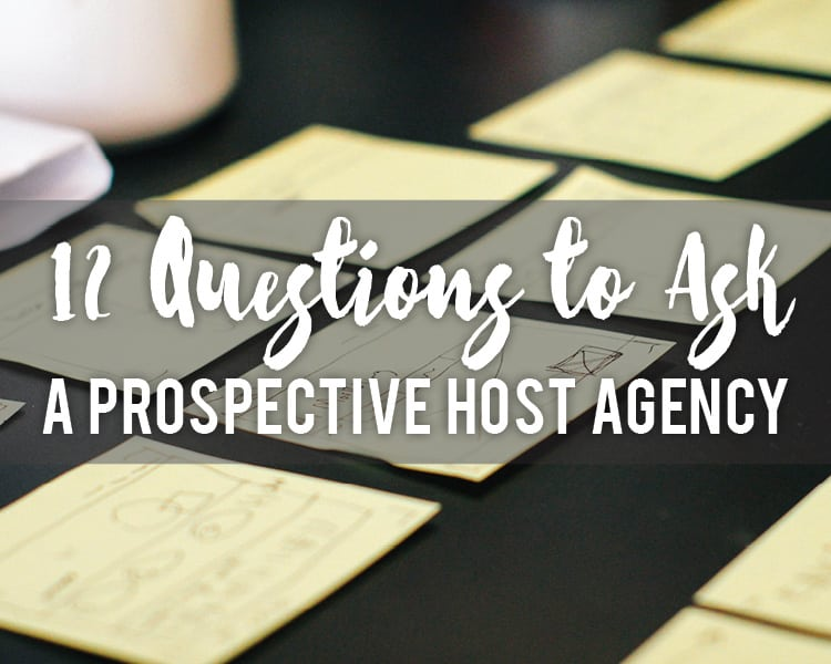 questions-to-ask-prospective-host-agency