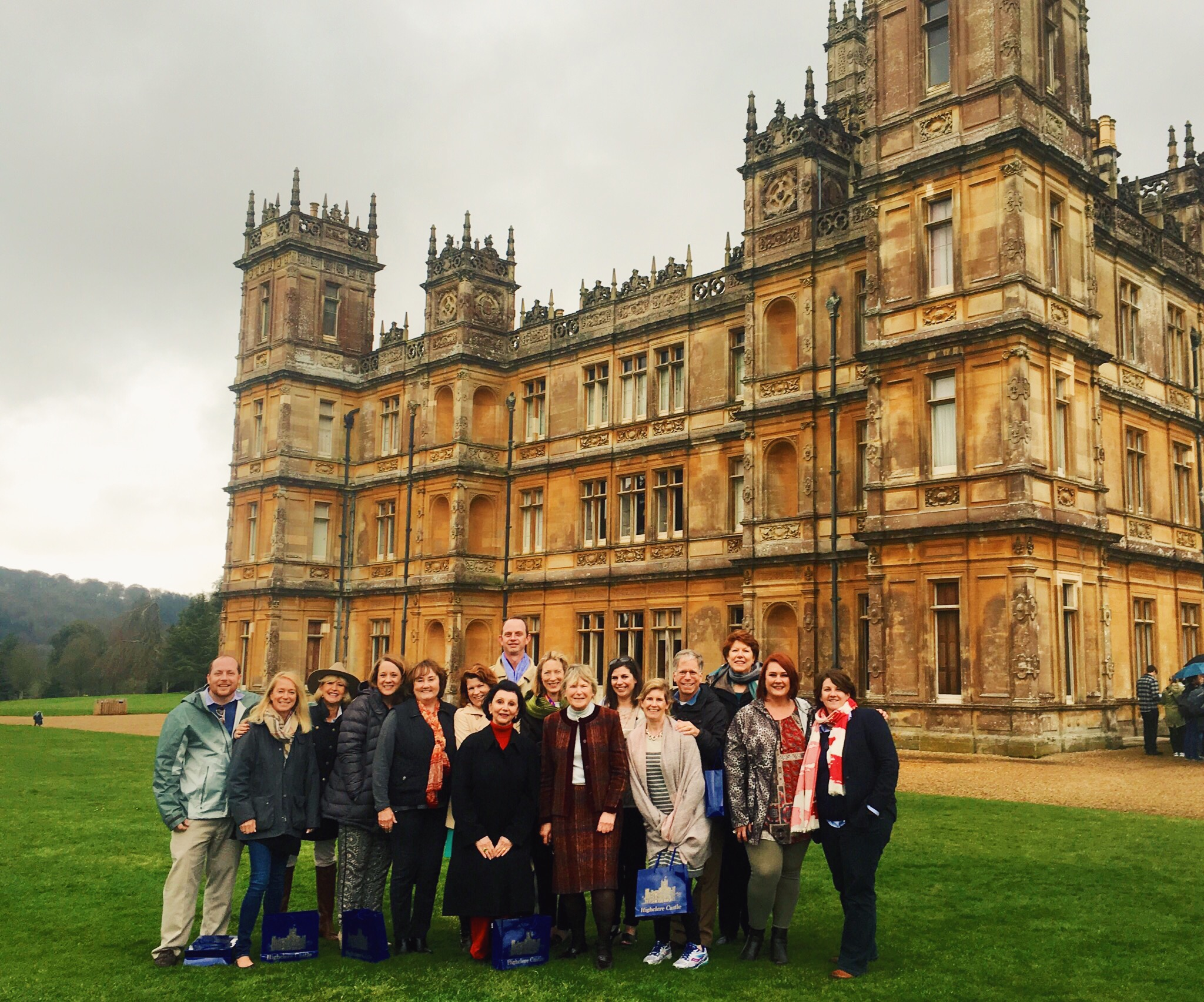 Forget the lines. Brownell Advisors got a private tour of Highclere Castle aka Downton Abbey.