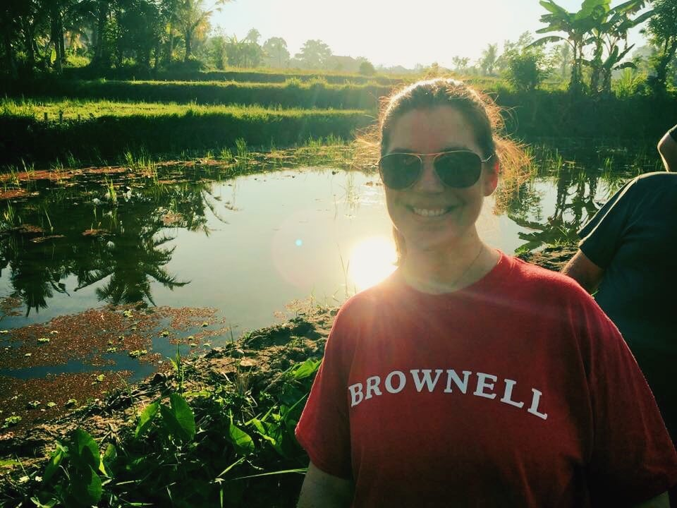 Brownell in Bali