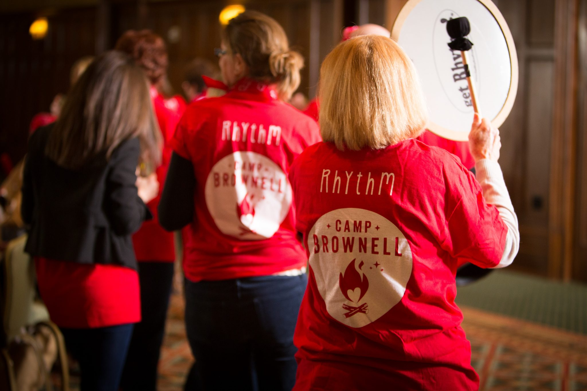 Camp Brownell Drumming