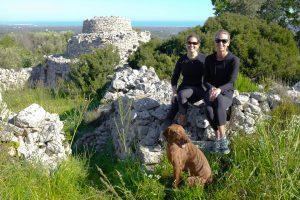 Sam McClure and Caroline Wallace in Puglia