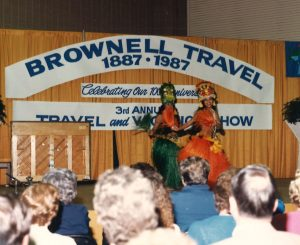 1987 Travel Show 100th Anniversary