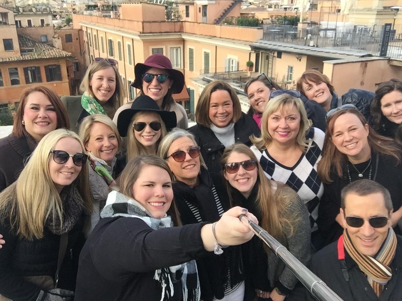 Italy EDU Selfie