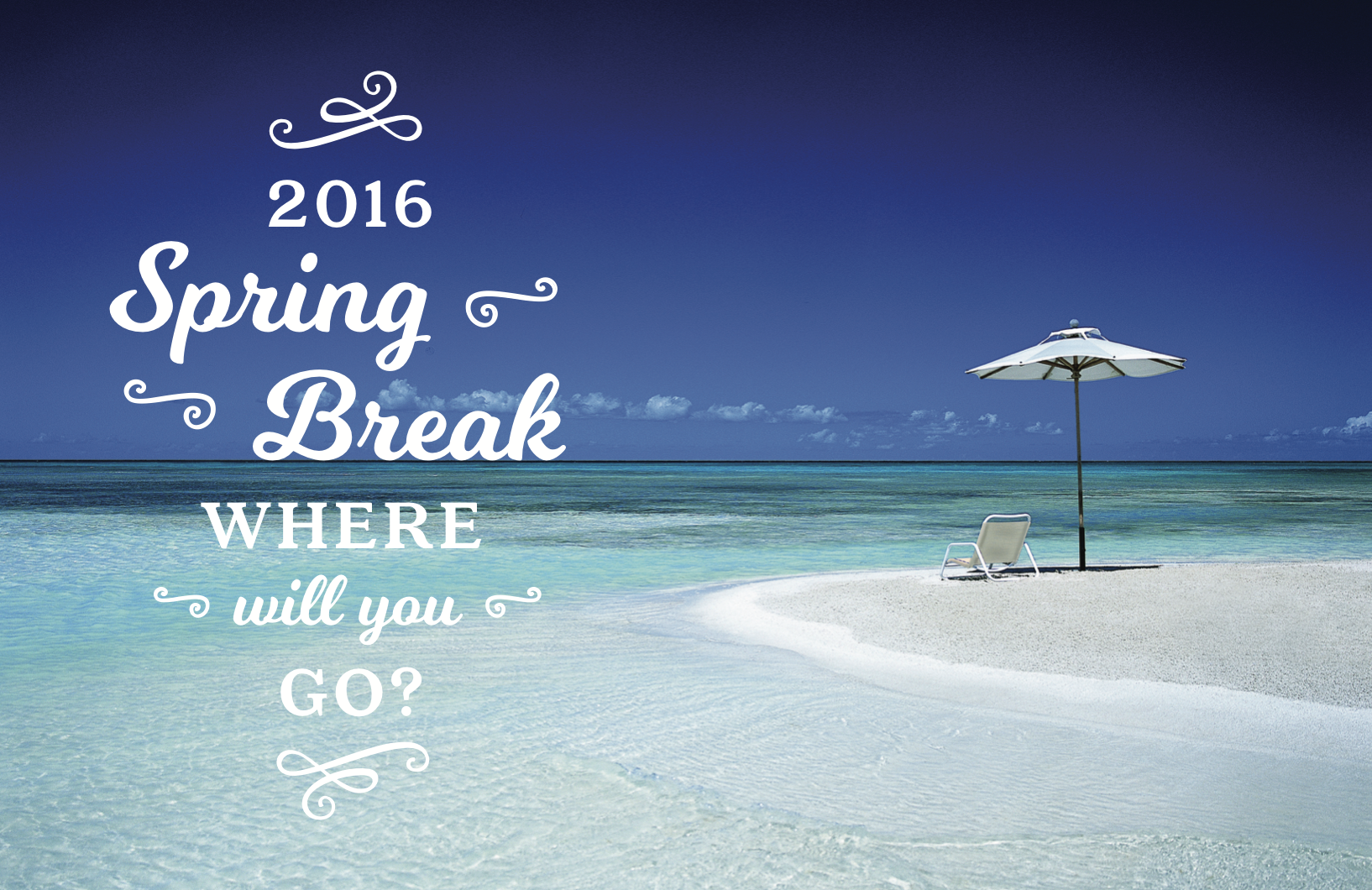 Spring Break 2016 Postcard front