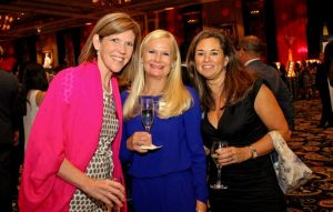 Susan Whitson, Lou deLisser, Sam McClure at Virtuoso Travel Week