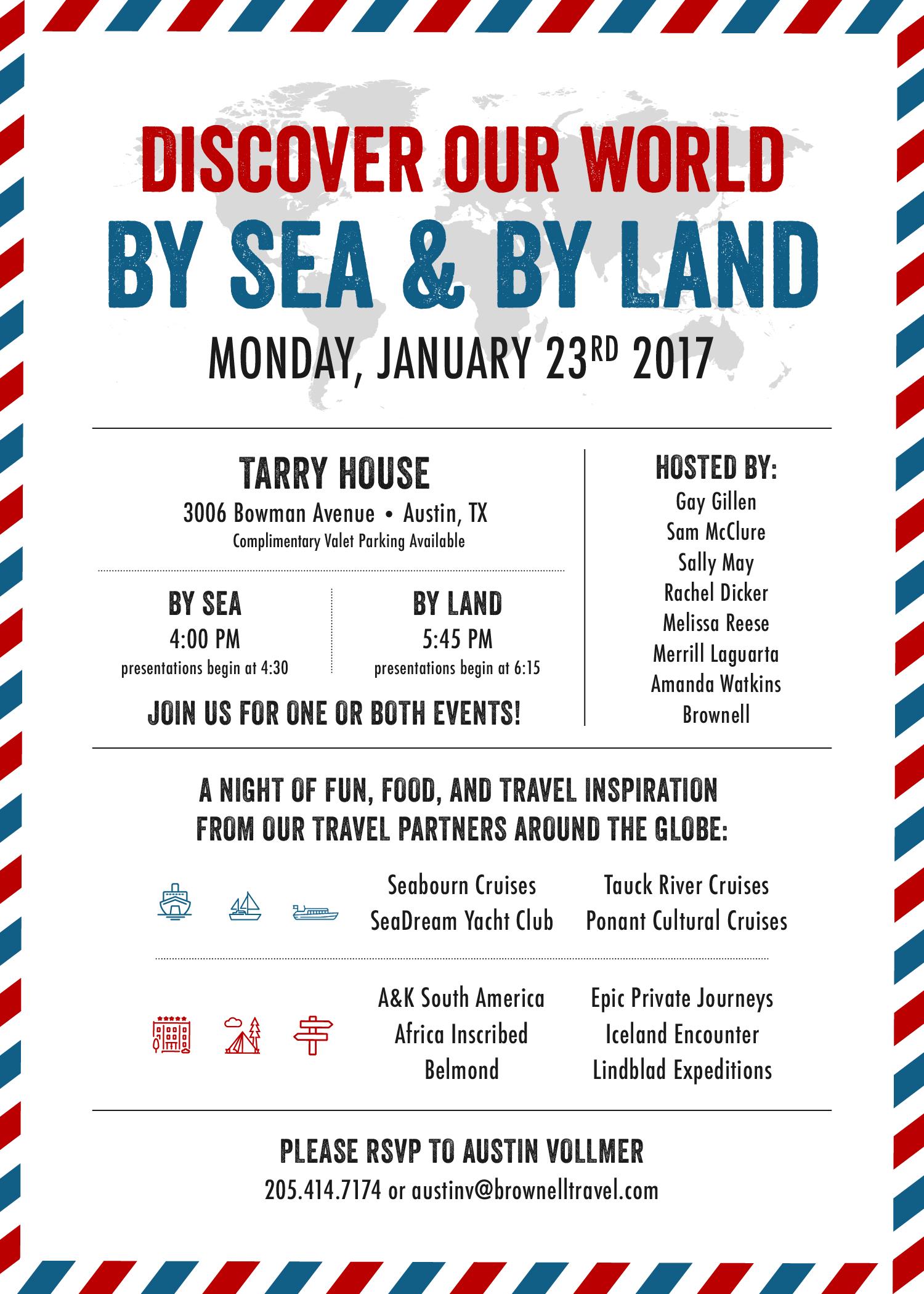Tarry House Invitation