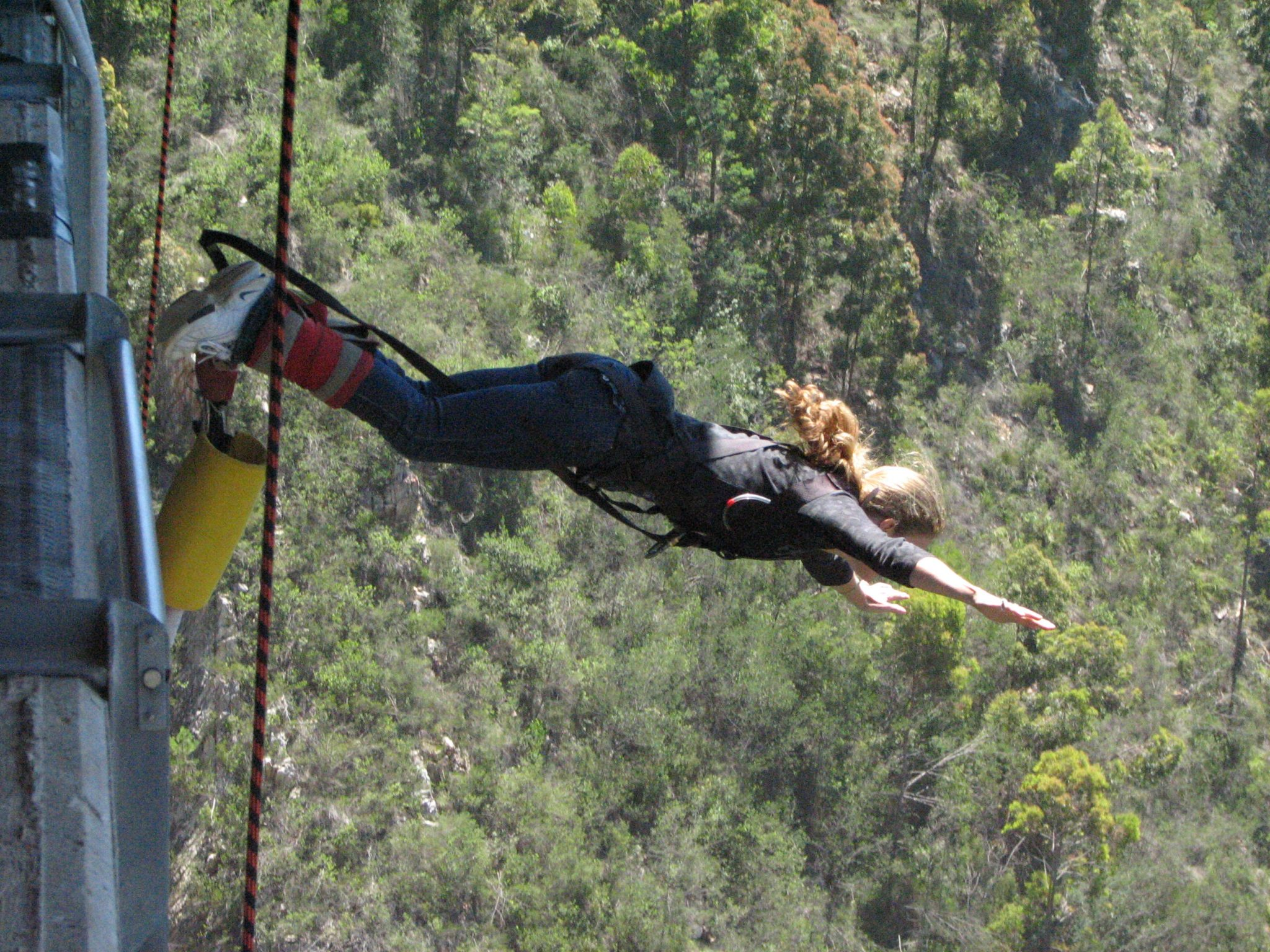 Sue Picken – Highest Bungy