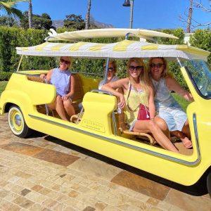 Winn, Hayden, Amanda, Megan in Santa Barbara